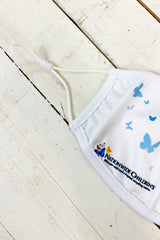"Nationwide Children's ""Butterflies"" Adjustable ADULT Face Covering"
