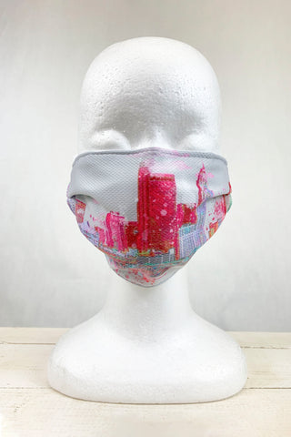 "Columbus Skyline ""Carrie"" Face Covering"