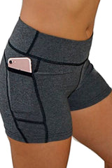 "The ""Victory"" Cell Phone Pocket Short/Grey"
