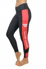 UD-5006- The University of Dayton Cell Phone Pocket Legging/Onyx