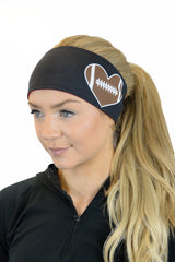 REVERSIBLE Game Day Football Headbands (Various Prints)