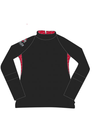 2019 OSU 4 Miler Performance Full Zip Pullover/Black