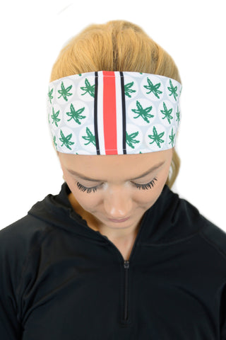 REVERSIBLE Ohio State Game Day Headband