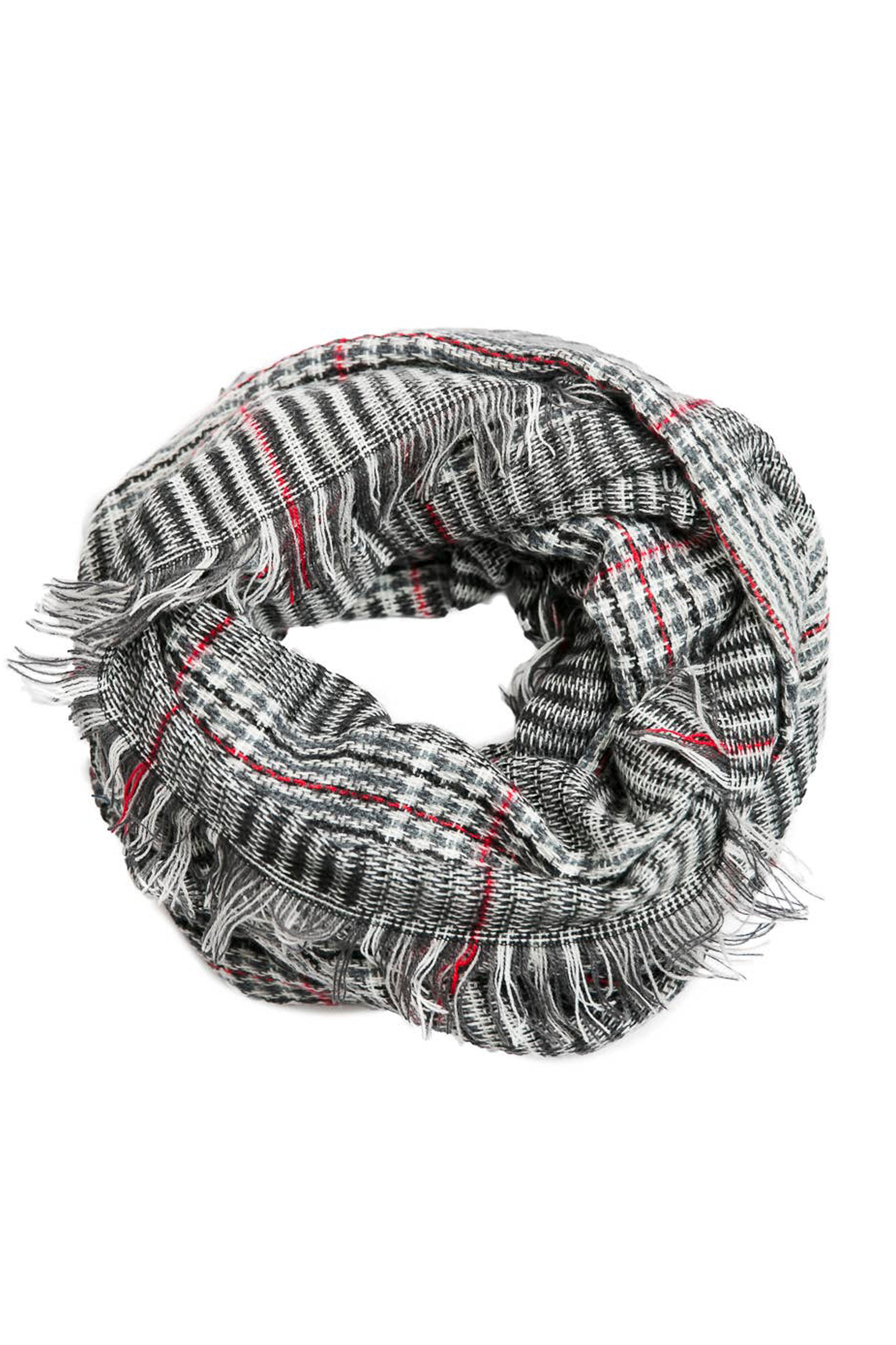 Plaid Infinity Scarf (Various Colors)