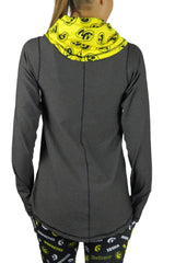 The University of Iowa Funnel Neck Long Sleeve/Onyx