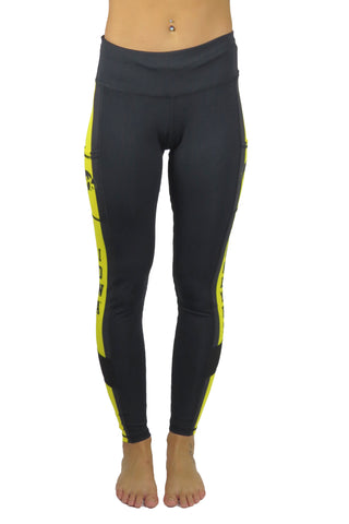 The University of Iowa Cell Phone Pocket Legging/Black