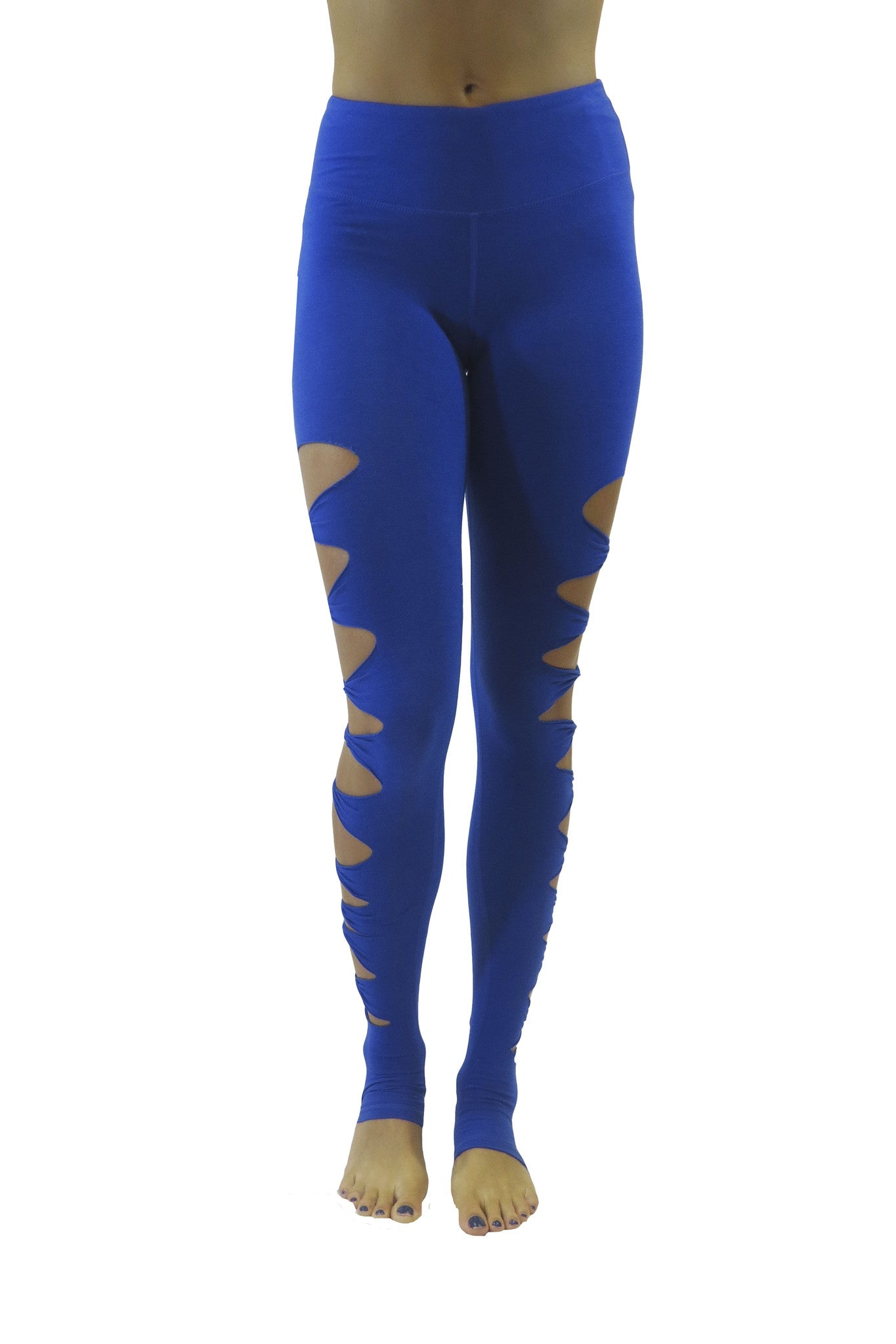 The Acro Bamboo Legging/Royal Blue-FINAL SALE