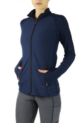 4001 - Bend Full Zip Pullover/Navy