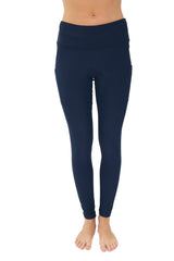 "4013 - The ""Victory"" Cell Phone Pocket Legging/Navy"