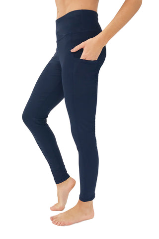 "The ""Victory"" Cell Phone Pocket Legging/Navy"