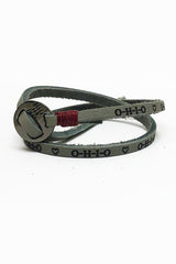 O-H-I-O ♡ Leather Wrap Bracelet