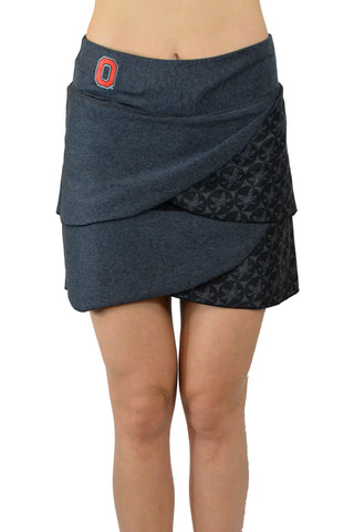 "The ""2020 Vision"" Game Day Buckeye Performance Skort/Black"