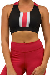 The Game Day OSU Criss Cross Bra/Black