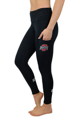 "OSU-1013 - The Ohio State University ""Victory"" Cell Phone Pocket Legging/Black"