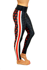 The Game Day Buckeye Legging/Black
