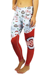 "The Ohio State University ""Fanatics"" Legging/Scarlet & Grey"