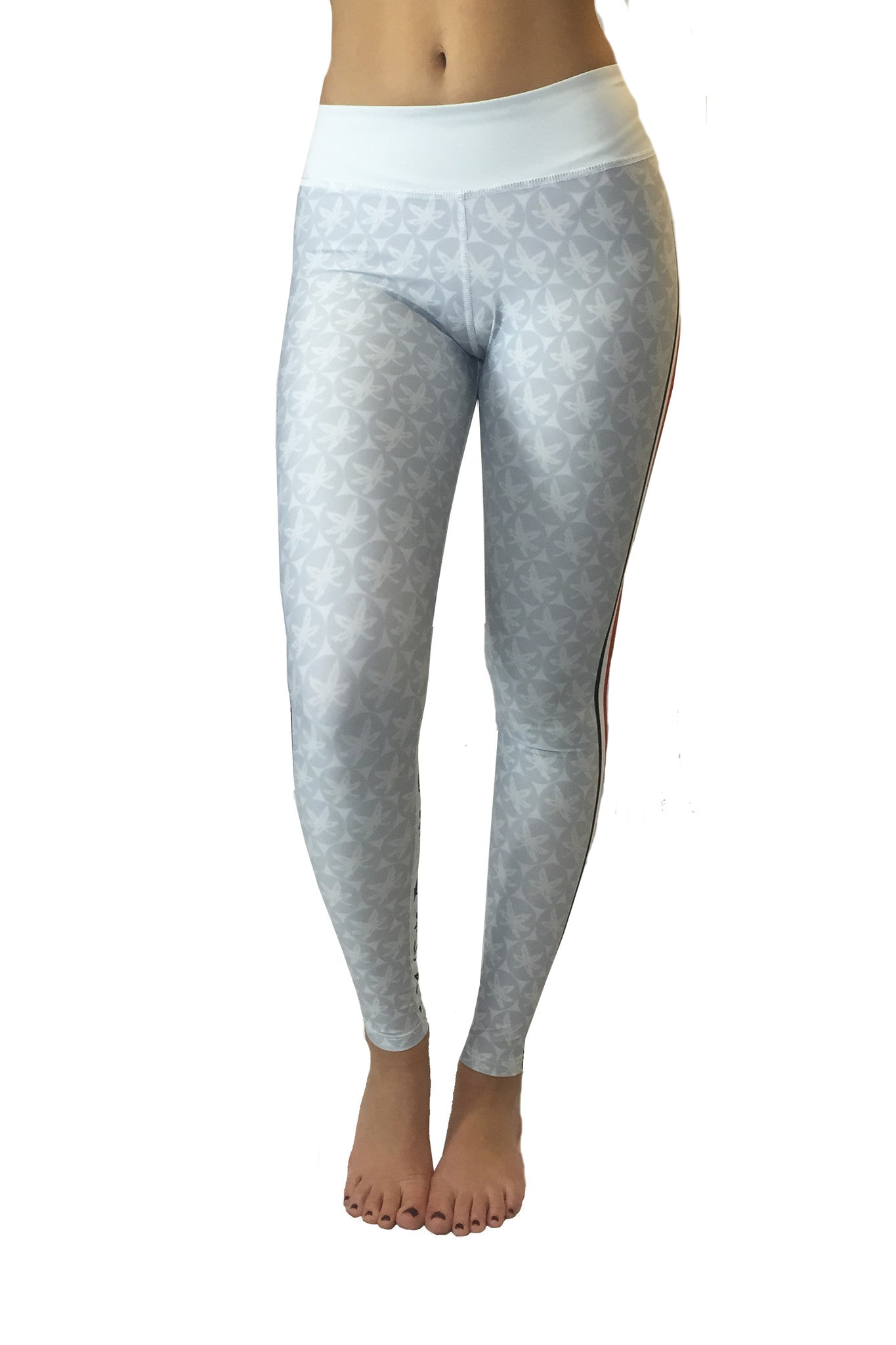 The Game Day Buckeye Legging/Grey