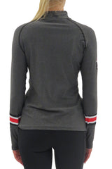 The Ohio State University 1/4 Zip Gameday Pullover/Charcoal