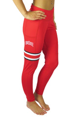 The Ohio State University Cell Phone Pocket Legging/Red