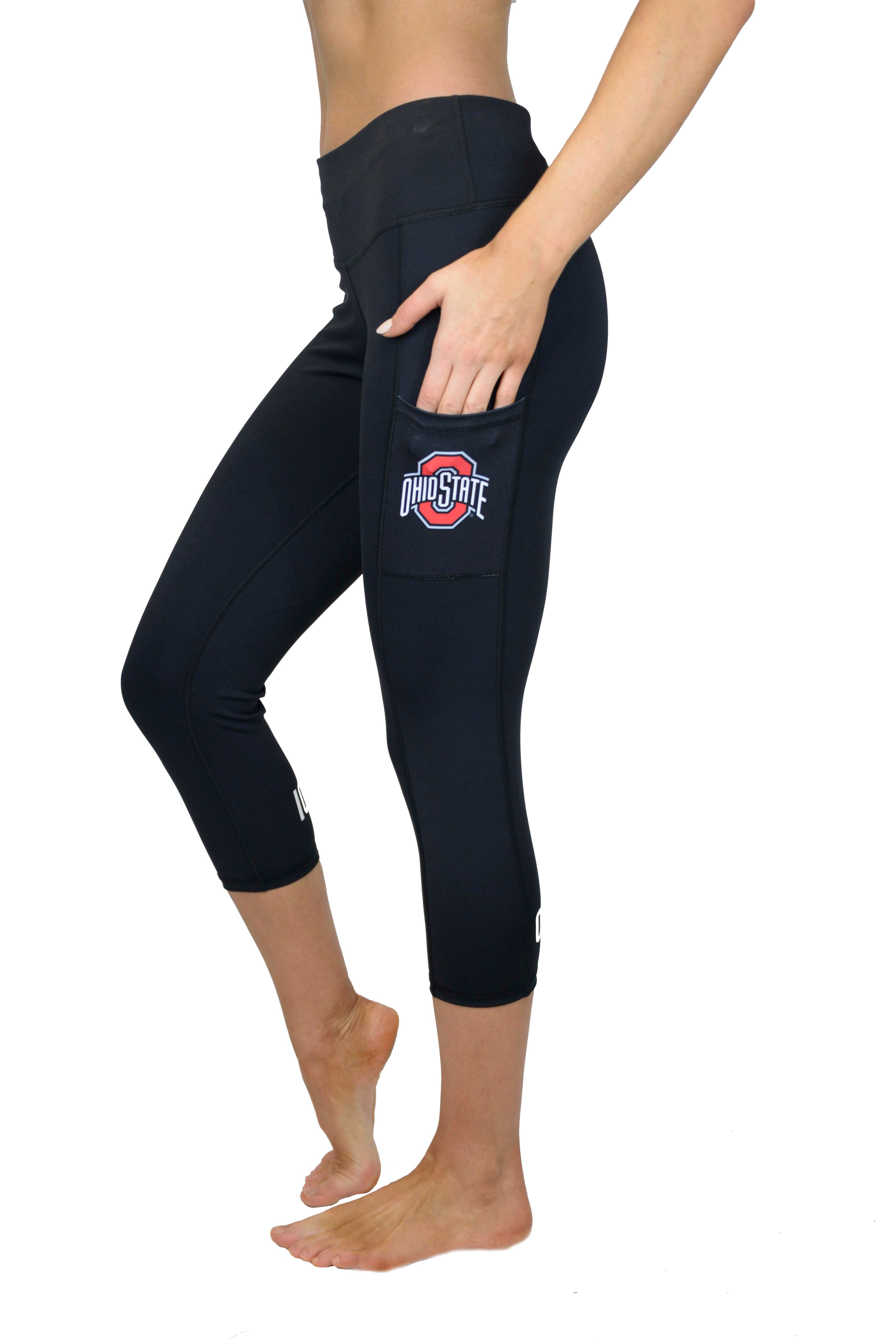 "The Ohio State University ""Victory"" Cell Phone Pocket CROP/Black"