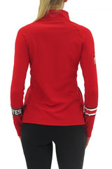 The Ohio State University 1/4 Zip Gameday Pullover/Scarlet