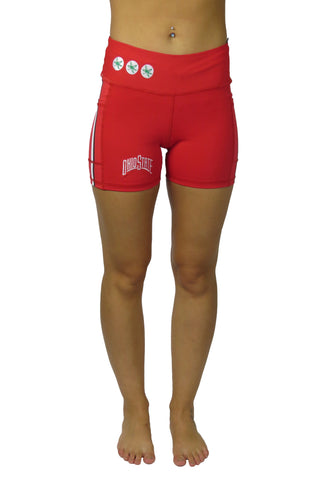 "The Ohio State University ""Victory"" Cell Phone Pocket Short/Red"