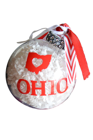 Ohio Love Ornament