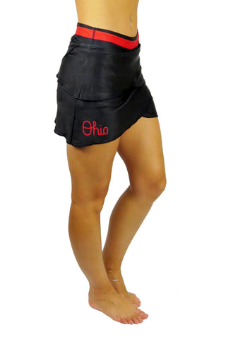 "The ""Script Ohio"" Performance Skort/Black"
