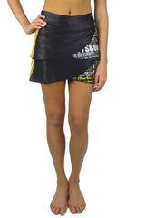 "The ""Pittsburghese"" Performance Skort/Black & Gold"