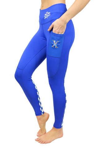 2020 RunTheBluegrass Cell Phone Pocket Legging/Royal