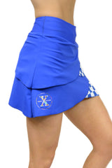 2020 RunTheBluegrass Performance Skort/Royal