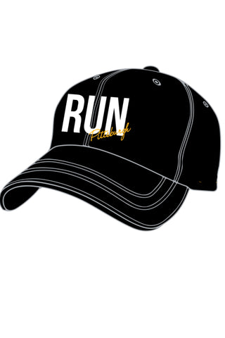 Run Pittsburgh Running Hat/Black