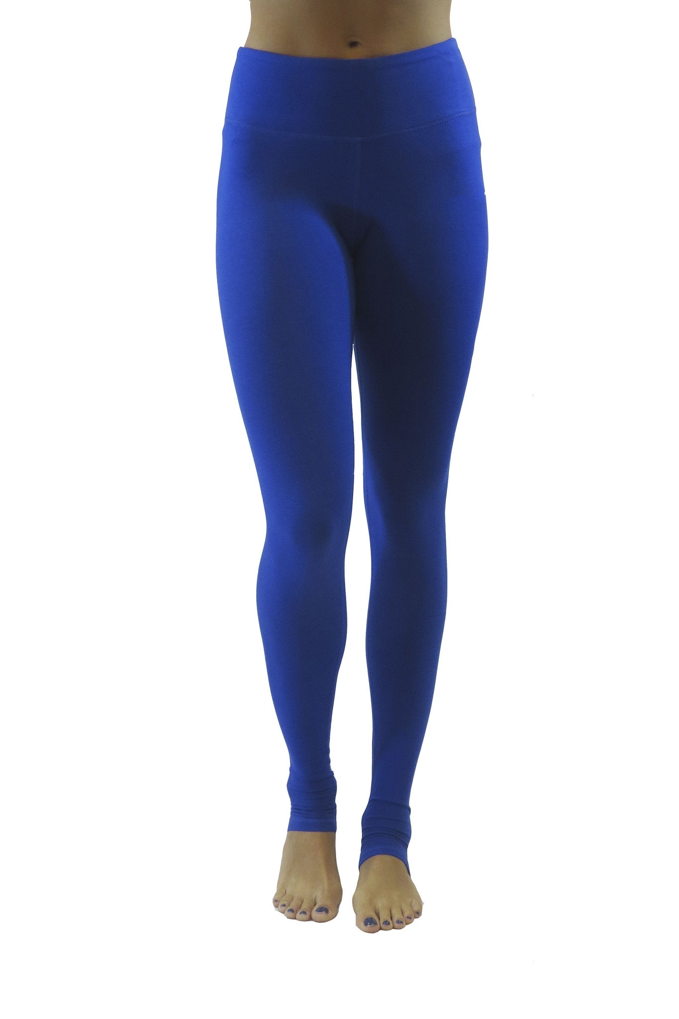 Bend Bamboo Legging/ Electric Blue