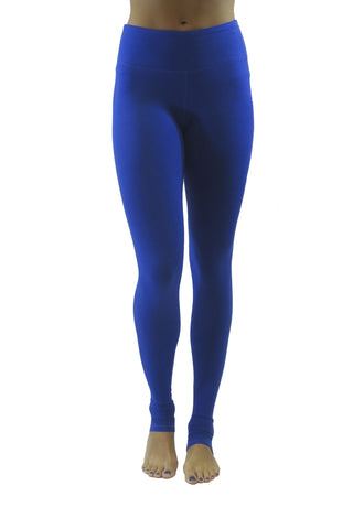 Bend Bamboo Legging/ Electric Blue- FINAL SALE