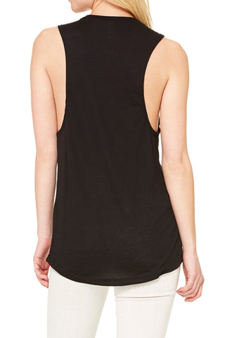 "5003 - The ""Run Kentucky"" Muscle Tank/Black- FINAL SALE"