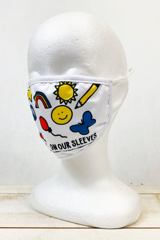 "Nationwide Children's ""On Our Sleeves"" KIDS Face Covering"