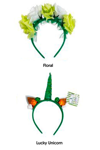 St. Patrick's Day Novelty Headband