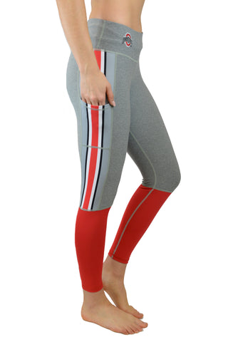 "The Ohio State University ""Touchdown"" Legging/Scarlet & Grey"