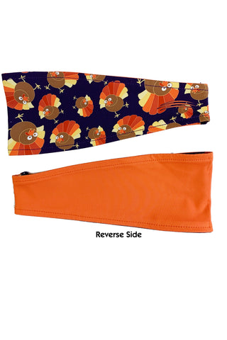 REVERSIBLE Thanksgiving Headbands (Various Prints)- FINAL SALE
