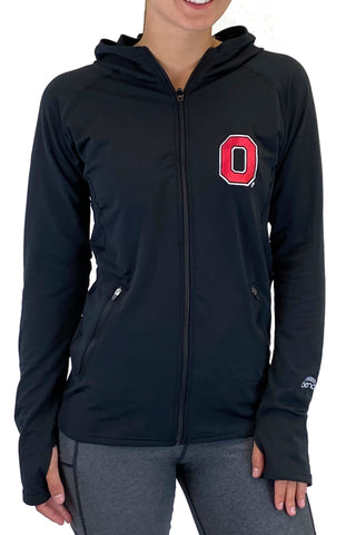 "The Ohio State University ""2020 Vision"" Pony Tail Performance Hoodie/Black"
