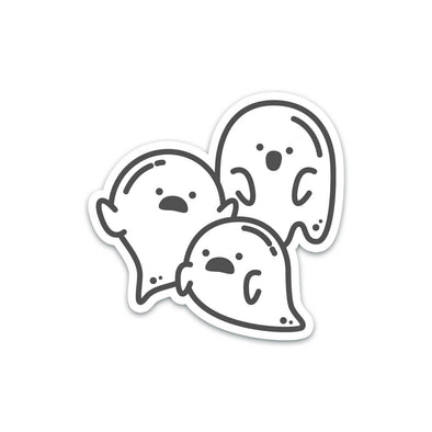 Group of Ghosts Sticker - Soshl Tags