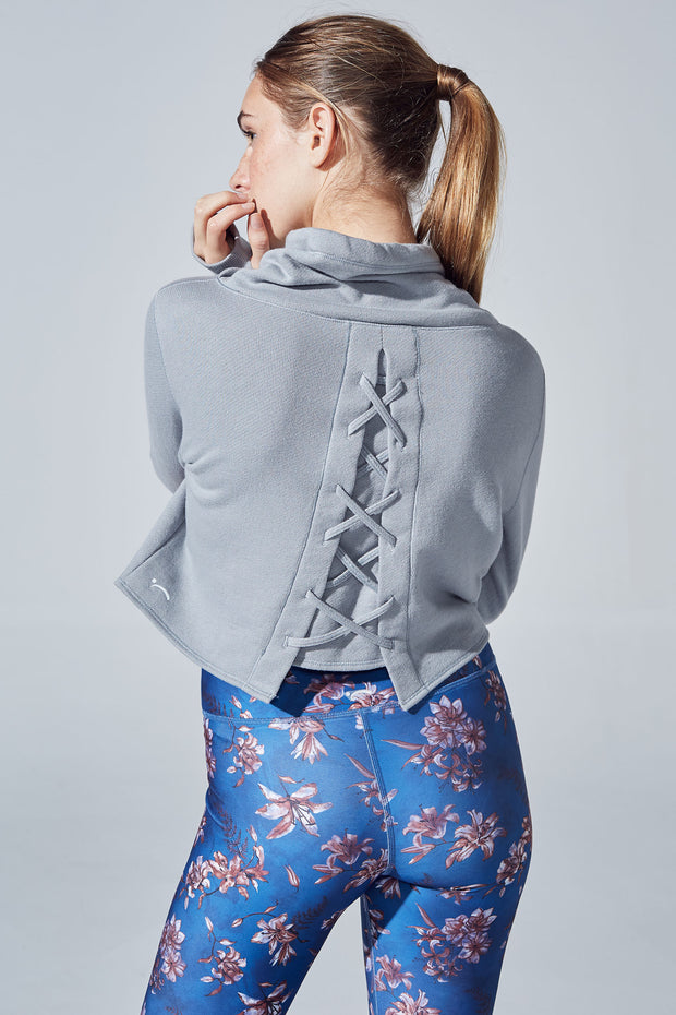 Turtle Lace Sweatshirt