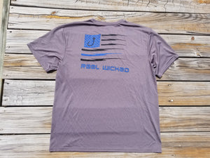 Blue Line Flag Shirt