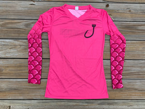 Fuchsia Mermaid sleeve