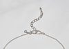 handmade sterling silver hook clasp with logo tag