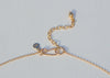 handmade 14k gold hook clasp with extension chain
