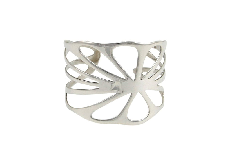 handmade nature inspired sterling silver lotus leaf statement jewelry