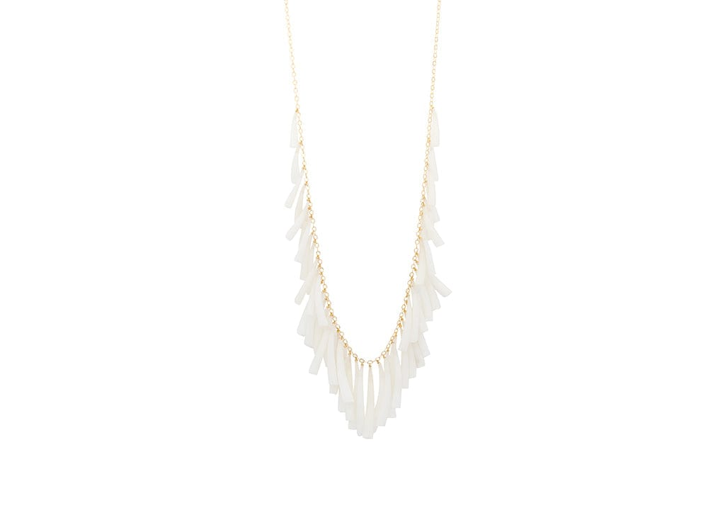 tusk shell dentalium necklace