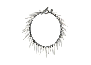 spiky powder coated urchin bracelet