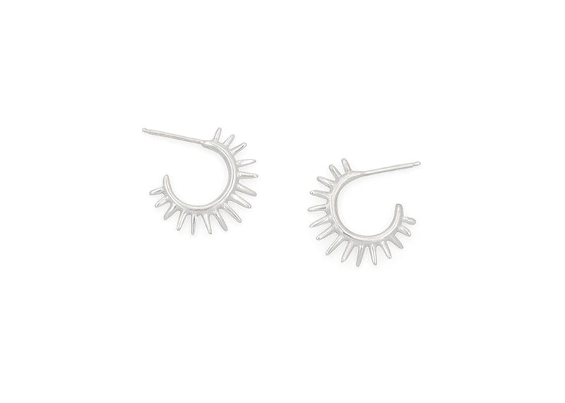 sea urchin inspired hoop earrings hawaii